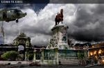 Terreiro do Paco is at war by JGi-desIgn