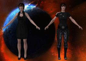 Customized Shepard of Zombie-Dealers by Melllin
