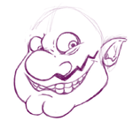Wario Sneak Peek by NoThisIsErica