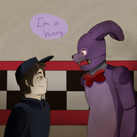 He's a bunny. by kittychan1997