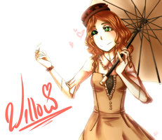 Art Trade with Reii90Chan: Willow by Riccasze