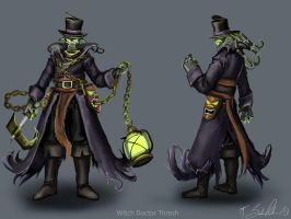 Witch Doctor Thresh by Anodesu