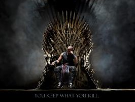 Riddick Iron Throne by cheatch