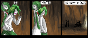 Hate - 13 by Draikinator