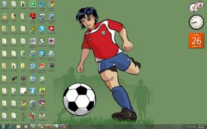 Soccer Desktop by scriptboy