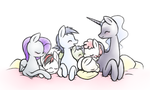 Project Horizons cuddle pile by Ryxingeir