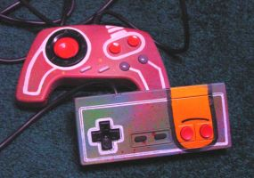 NES Controllers by cubecrazy2