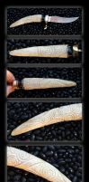Newgrange Spiral Knife by DreamingDragonDesign