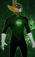 Green Lantern Movie Tomar-Re by TimDrakeRobin
