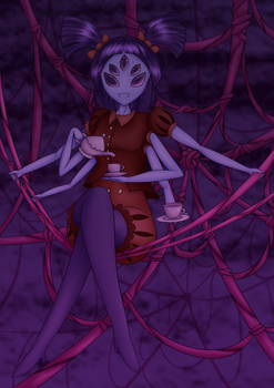 Muffet serves you a cup of spiders. by Meteorimpact