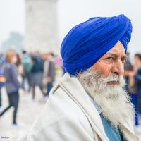 Incredible India - the wise man in Agra by Rikitza