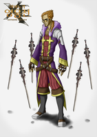 Vindictus Character Idea: Drake the Blade Dancer by ComX-1