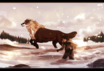 Not bogged by snow by Copperhaven
