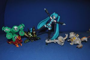 Mikugan - Melodian Invaders by MarxArtCo