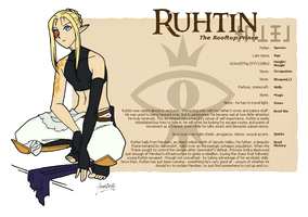 Ruhtin Profile Card by TalenLee