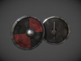 Viking Round Shield by InsanitySorrow