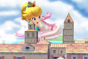 Super Huge SSB4 Peach snapshot 4 by ZatchHunter
