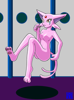 Living Suit of Espeon 2 by sinrin8210