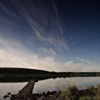 Lough Erne at Night II by mole2k