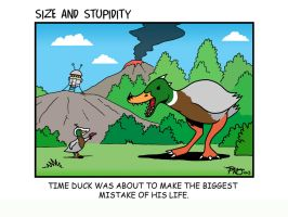 Time Duck by Size-And-Stupidity