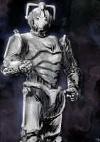 Dr. Who Cyberman by T-RexJones