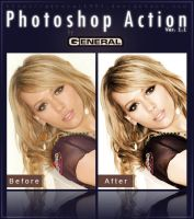 Photoshop Action Ver. 1.1 by General1991