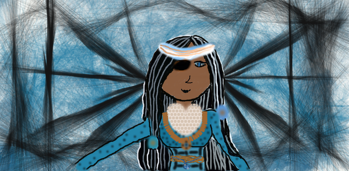 Water Tribe Voodoo Priestess by 100PERCENTFAN