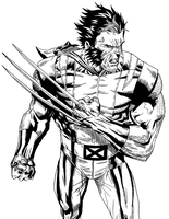 Wolvie Inked by KingVego