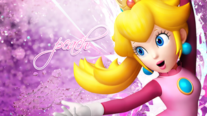 Peach wallpaper by MichealP