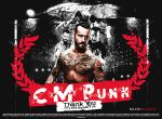 CM Punk Thank You Wallpaper by SoulRiderGFX