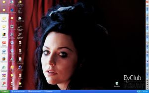 Amy Lee wallpaper by fuzzy-poptart-inc