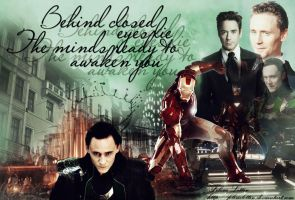 Tony and Loki by FelisiaLettise