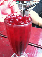 Roselle drink by Gexon