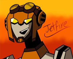 Jetfire by InvaderZaff