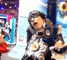 Bayonetta 2 cosplay gif - Is that all you've got? by JudyHelsing