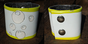 Derpy Hooves MLP Leather Cuff | $7.50 on Etsy! by Tarapotamus