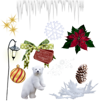 Christmas Stock Pack 2 Png by KarahRobinson-Art
