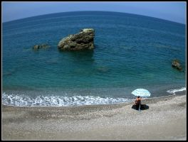 Beach of Calabria by kanes