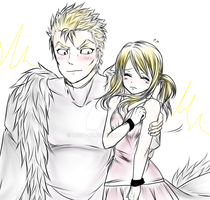 lucy x laxus by Lucy-H9