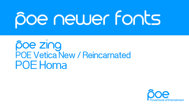 POE Newer Fonts by DLEDeviant