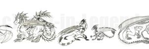 Dragons On Parade by Lost-in-Legends