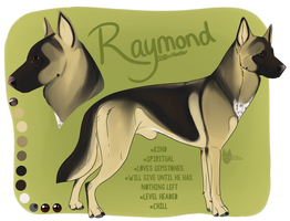 Raymond- Premade Character for Sale by PittMixx