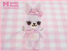 Ribbon Bunny Ring by Dolly House by SweetDollyHouse