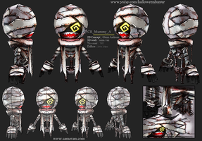 HalloweenHunterGame - CR_Mummy_A by samavan