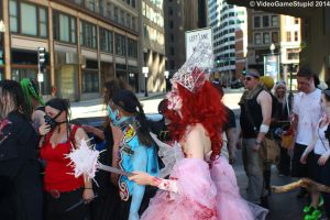 Boston Zombie March 2014 - Zombie March 05 by VideoGameStupid