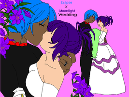 T.F.S EclipsexMoonlight Wedding by Sonic-Lover9