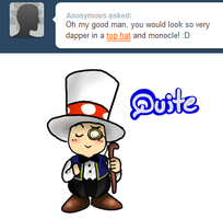 Ask Toad - Dapper by pocket-arsenal