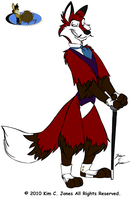 Reynard R. Fox by Slasher12