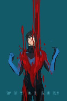 Red-Nightwing by Operapink