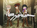 Minecraft Youtubers: Attack on Squids by MlpGravityFalls-FAN